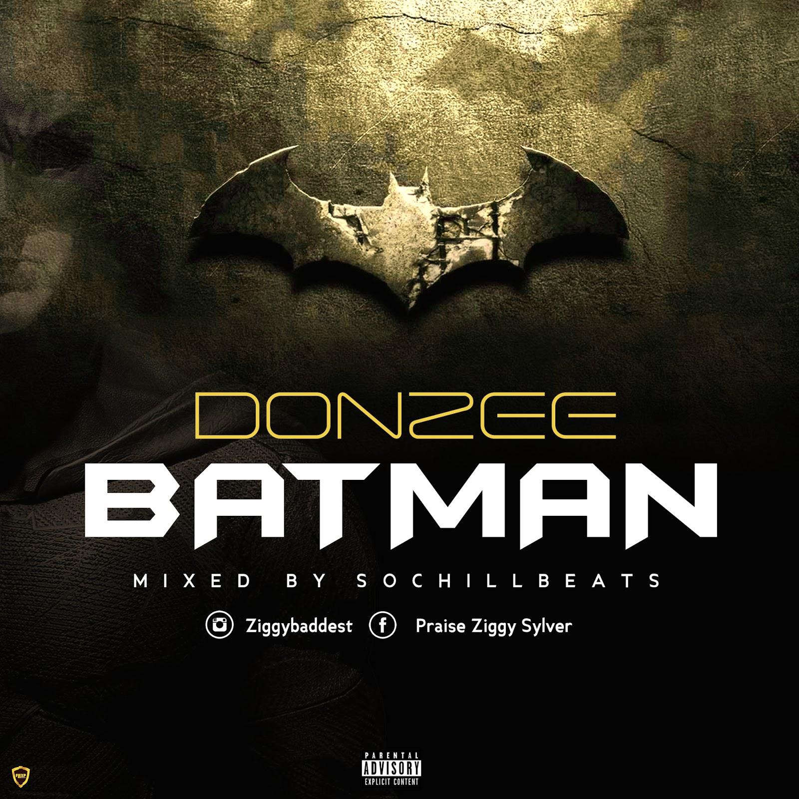 [AUDIO] Donzee – Batman