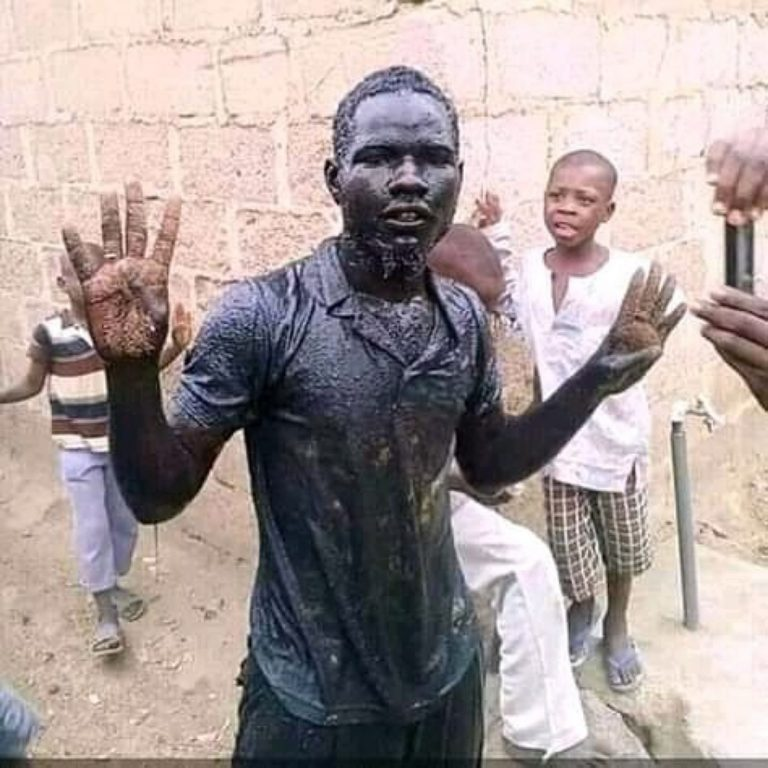 (Gist) : Man Dies After Drinking Water From The Gutter to Celebrate Buhari's Victory.
