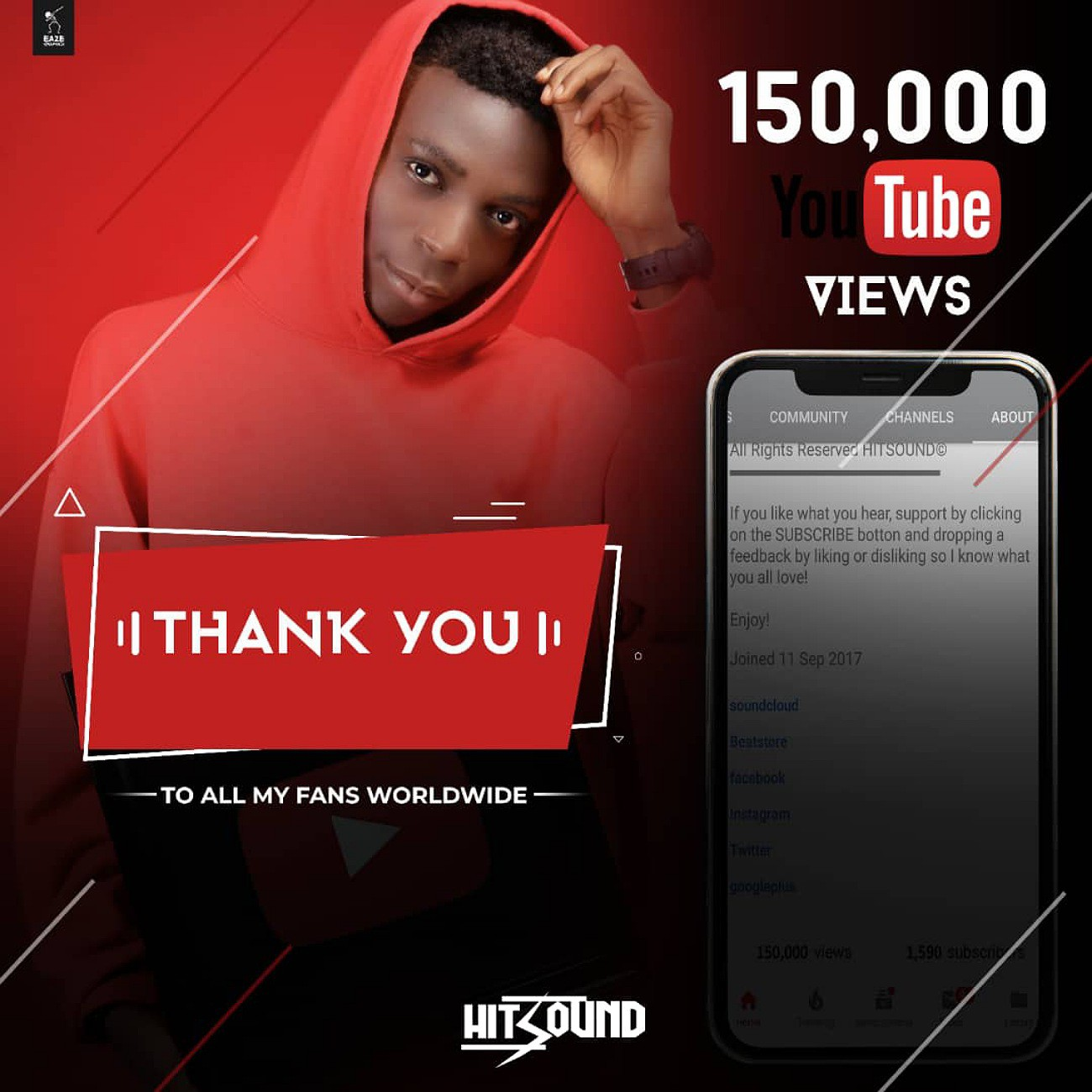 Hitsound Hits 150k Views And Counting On YouTube