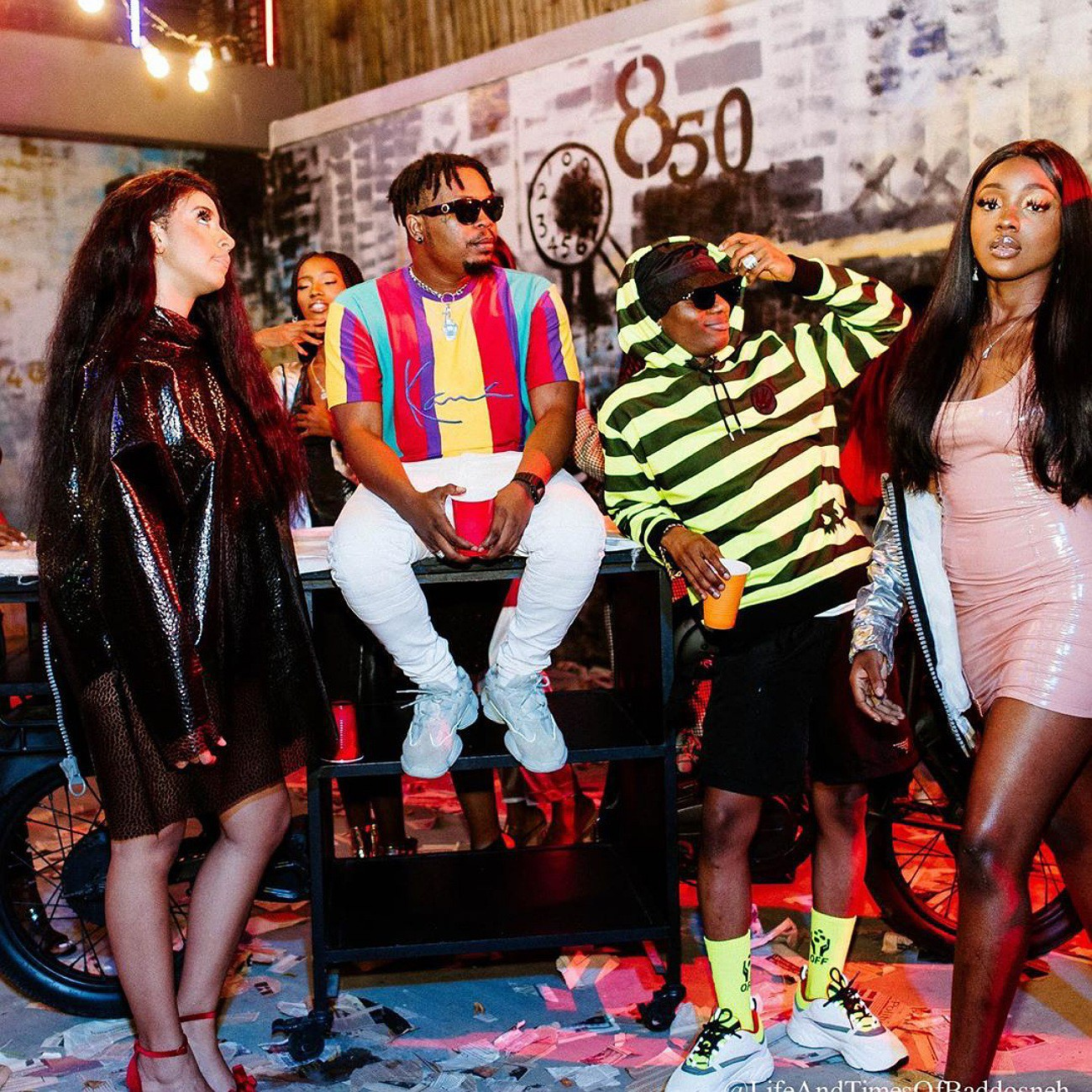 Olamide And Wizkid About To Drop Mind-blowing Video Of Their Leaked Song