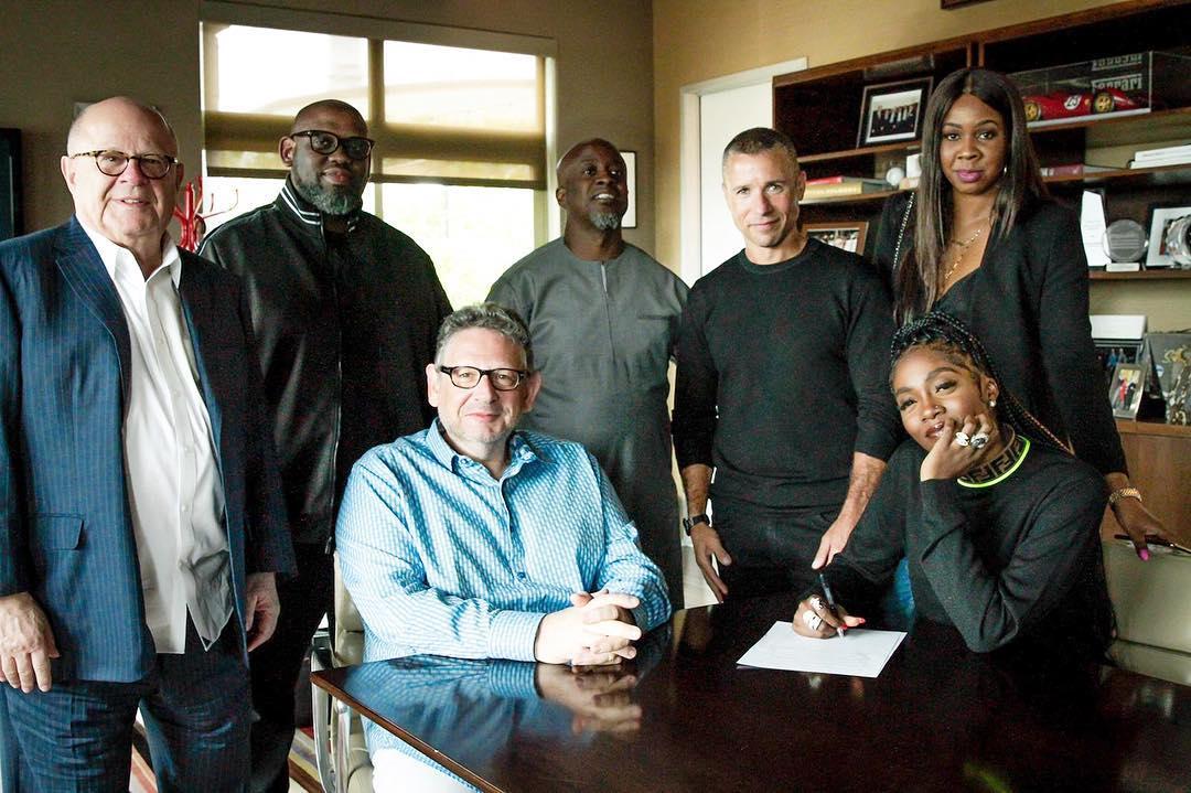 (NEWS): Tiwa Savage Signs Record Deal With Universal Music Group