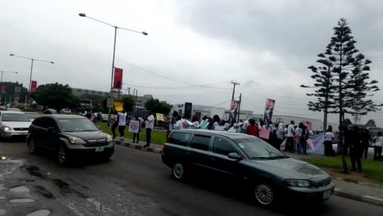 COZA Pastor Vs Busola: Nigerians Protest At COZA Church In Abuja And Lagos