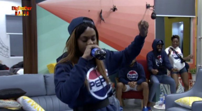 "Big Brother Naija 2019: Day 17: People React As Jackye Wins Pepsi ""Know Da Lyrics"" Challenge"