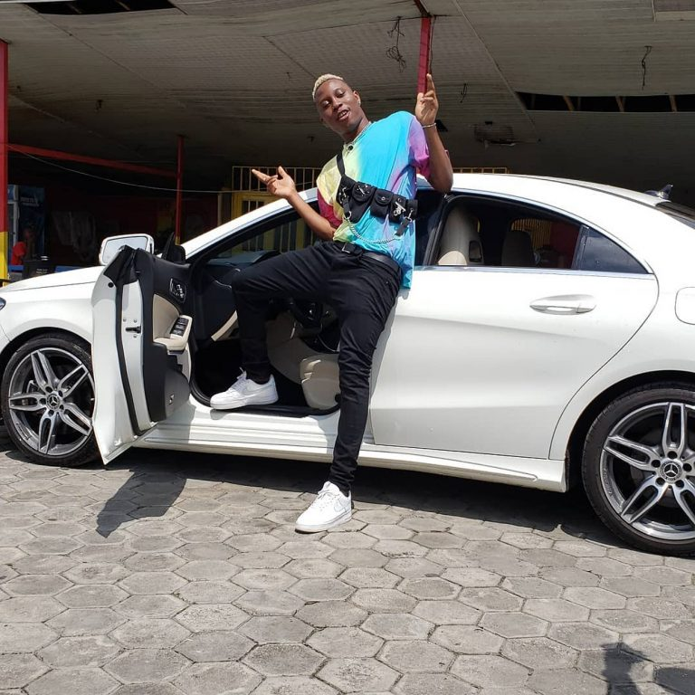 Singer, Soft Bought Himself Expensive Benz