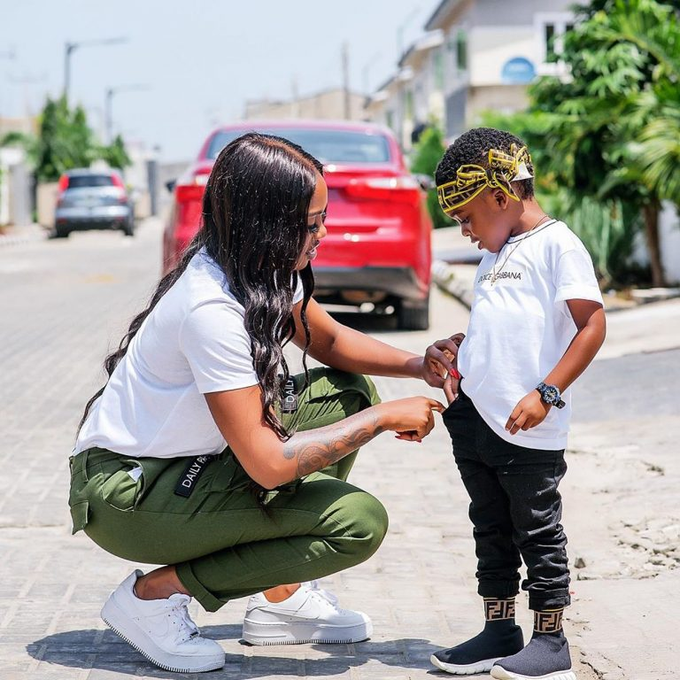 Tiwa Savage Tells Son That She Loves Him More Than Life On His Birthday