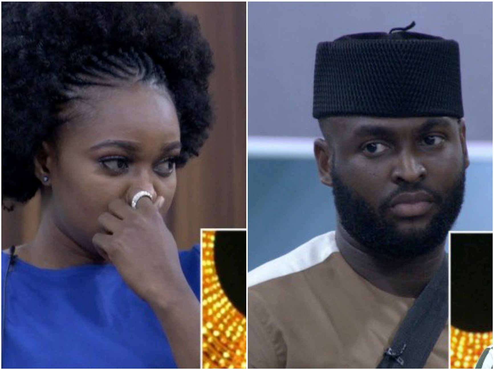Big Brother Naija 2019: Day 28: Nelson And Thelma Evicted