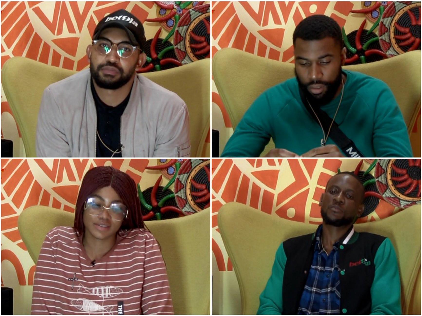 Big Brother Naija 2019: Tacha, Mike, Omashola and Jeff nominated for eviction