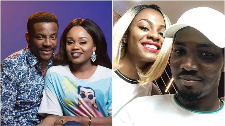 Jackye's boyfriend Lami reacts after Ebuka's wife said she's following Mike around in BBNaija house