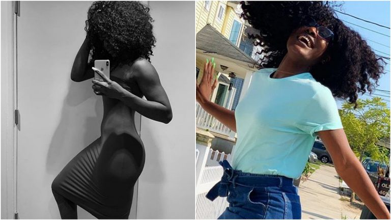 Alex posts photos of her hot body with a controversial caption