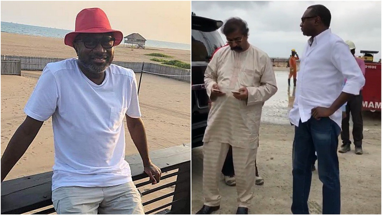 See what Otedola said when he visited Dangote refinery worksite to inspect the arrival of $13 billion power generator