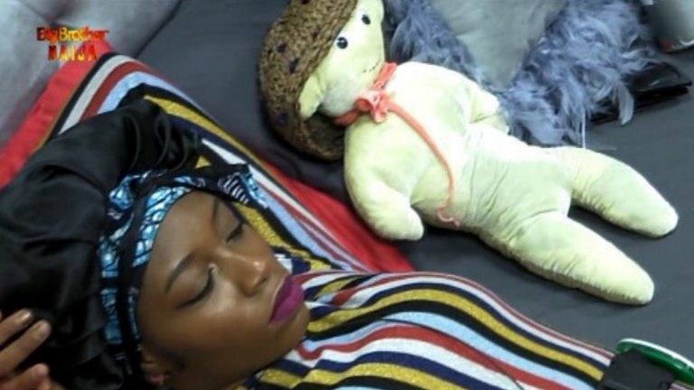 Khafi wears her teddy bear Gedoni's cap, proves she's missing him