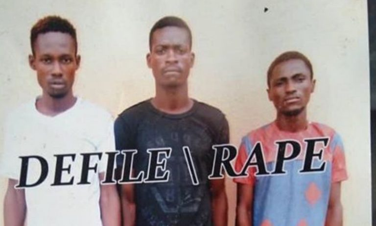 Three SUG officials arrested for defiling a 15 year old in her period