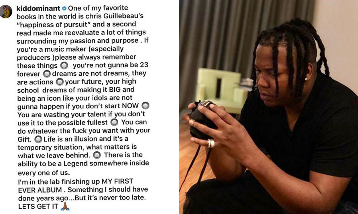 You're wasting your talent if you don't use it to the possible fullest – Kiddominant
