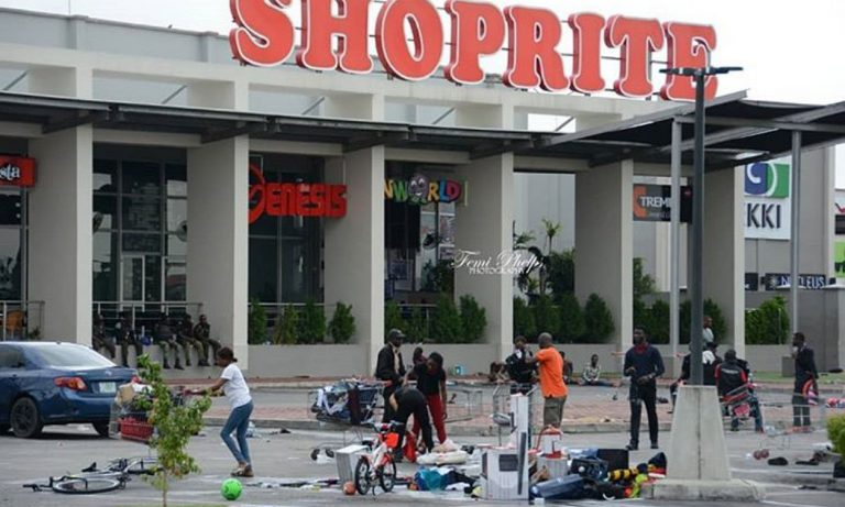 Shoprite appeals for calm as their shops are destroyed across the country