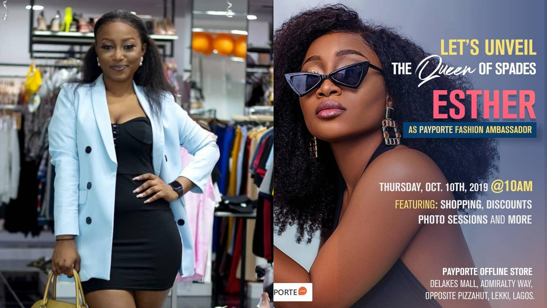 BBNaija's Esther becomes new Payporte fashion ambassador