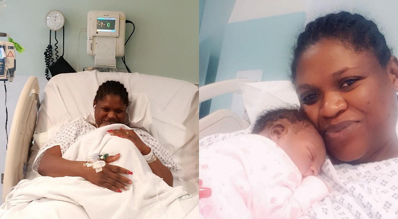 Actress Seyi Alabi welcomes daughter