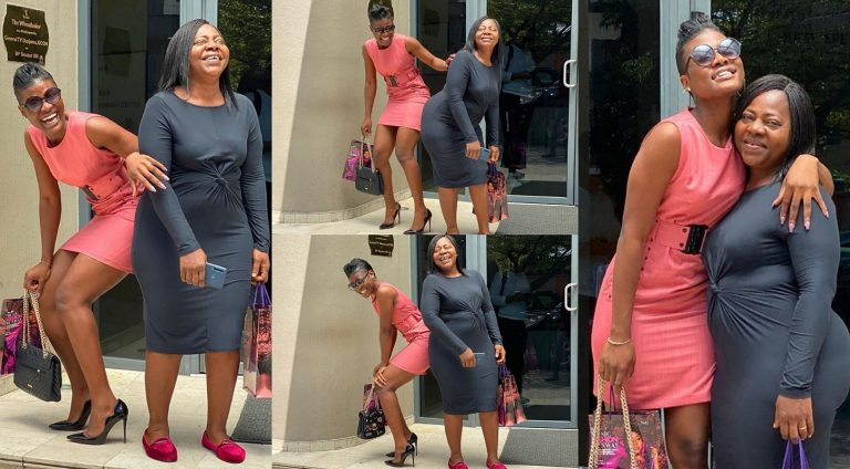 Stop beating me, I'm 23 – Reality star Alex tells her mom as they're spotted 'twinning' in new photos