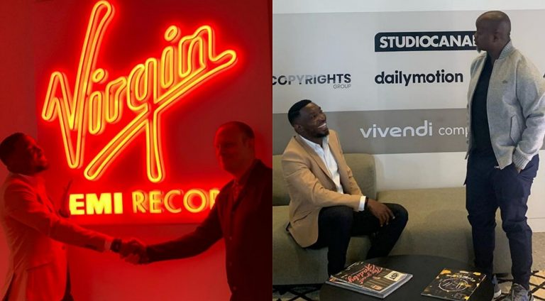 Singer Timi Dakolo signs record deal with UK label Virgin Emi Records