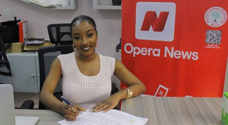 Reality star, Avala signs first endorsement with Opera News