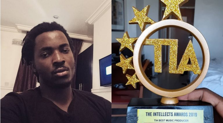 Psquare's former producer, VTek wins first award as music producer
