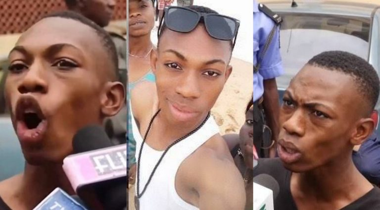 Nigerian cross dresser, James Brown of 'They Didn't Caught Me' cries of court's injustice