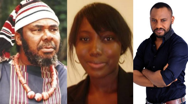 Yul Edochie responds to Sugabelly's claim that his dad, Pete is a bad actor
