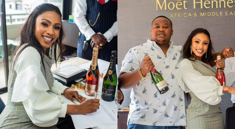 BBNaija's Mercy yanks Moët & Chandon 'audio endorsement' from her social media pages