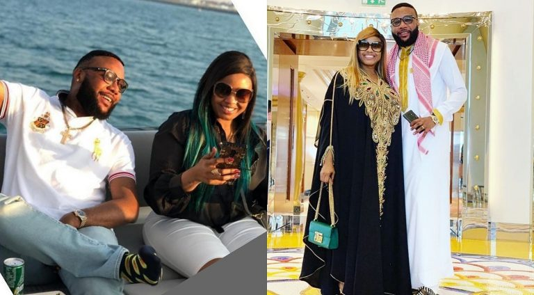 E-money celebrates 15 years together and 10 years marriage with wife Juliet