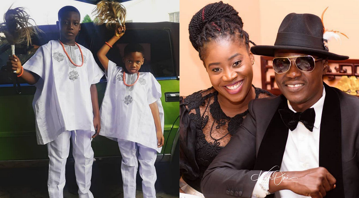 No more English, Yoruba is now lingua franca in my house – Music star Sound Sultan tells his kids