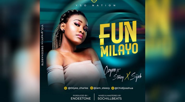 Listen to Ozyee – Funmilayo ft. Steezy x Sijay