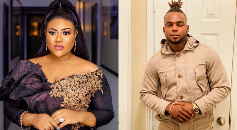 Actress Nkechi Blessing's relationship with her boyfriend Mike has gone 'underwater'