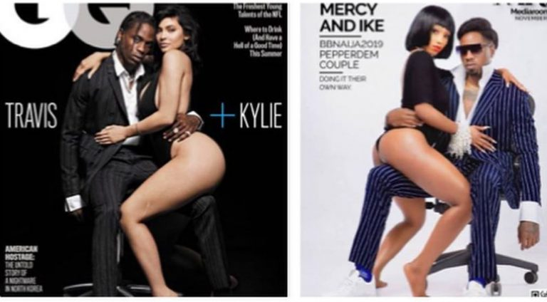 SM users criticize Mercy and Ike for replicating Kylie Jenner and Travis Scott pose in MRH cover