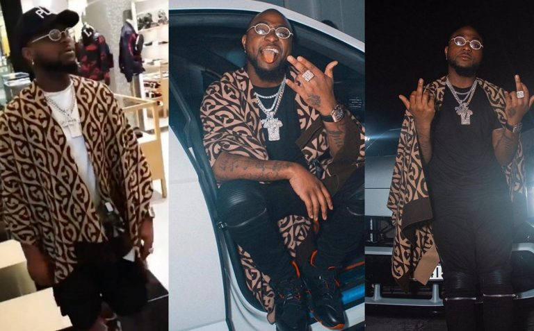 Davido's shirt to One Africa Music Fest in Dubai costs N1m, confirms by his crew