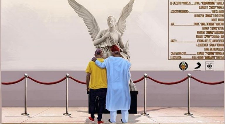 Davido's 'A Good Time' album cover shows him and his dad meditating in front of his late mom's tomb