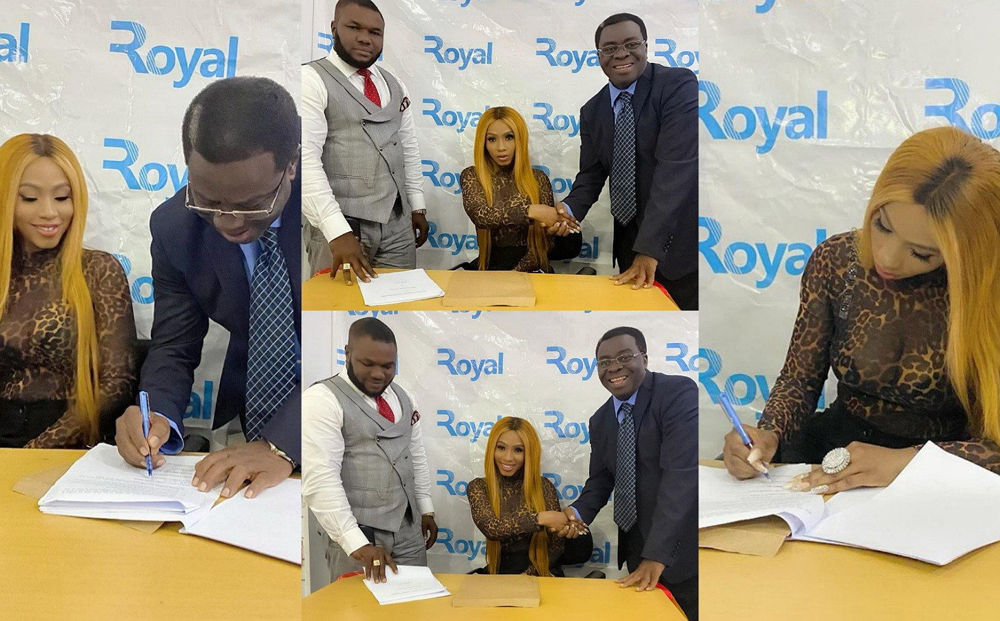 Reality star Mercy returns from Dubai, secures new deal with SIMS Nigeria