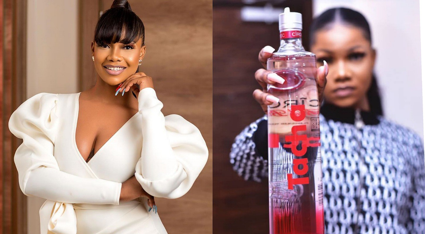 Reality star Tacha signs mega deal with famous alcoholic brand Ciroc