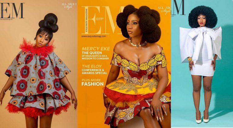 BBNaija 2019 winner Mercy covers November issue of Exquisite Magazine