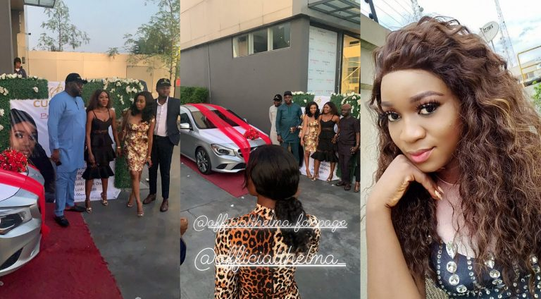 Reality star Thelma receives Benz from fans during her first ever meet and greet