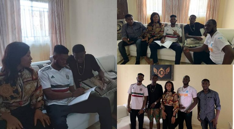 Zaddy Lexi, ThunderBwoy Muse sign record deal with D3 MusiQ