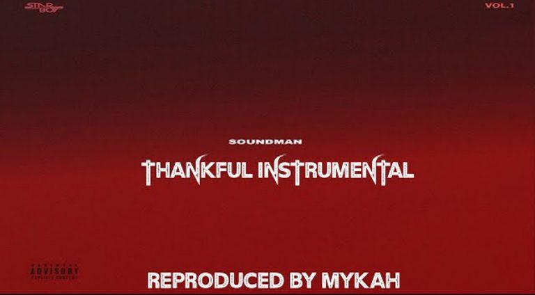 Download Instrumental Wizkid – Thankful ft. Blaq Jerzee (Prod. By Mykah)