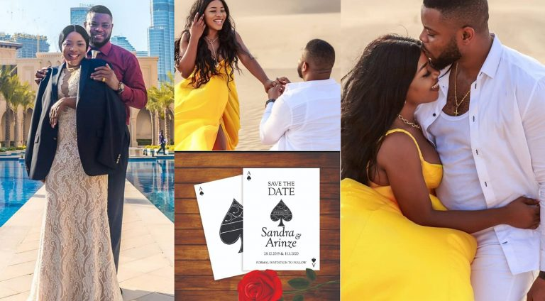 Linda Ikeji's younger sister, Sandra Ikeji sets to wed after her boyfriend's proposal