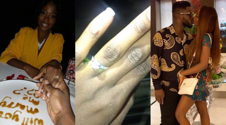 Comedian, Crazeclown proposes to his girlfriend, Jojo