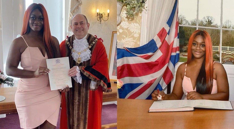 BBNaija's Uriel Oputa officially becomes British citizen