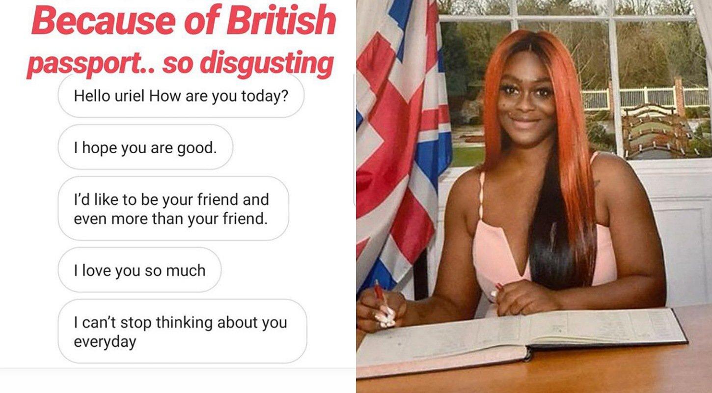 BBNaija's Uriel Oputa exposes men coming to her DM after she got British citizenship