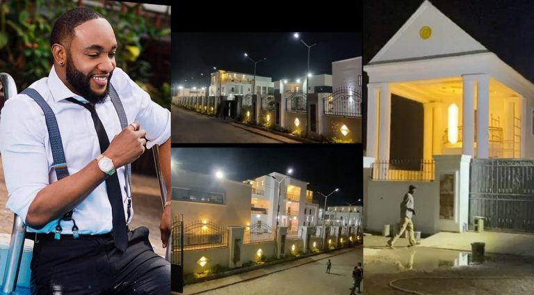 Music star Kcee reveals his newly built million dollar mansion in Uli, Anambra State