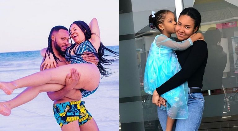 Singer, Flavour's babymama, Anna Banner storms the internet with photo of her and the baby dad