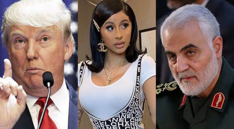 Cardi B considers getting Nigerian citizenship after Donald Trump ordered killing of ruthless Iranian General