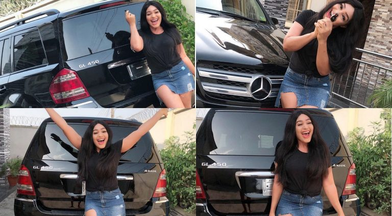 """Actress Sophia Williams receives Benz gift from """"special someone"""""""
