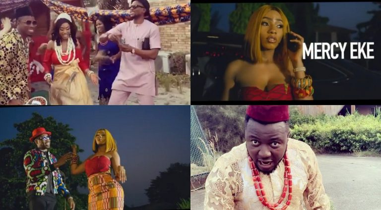 'Gbas gbos' lands on singer, MC Galaxy's head for featuring Mercy and Ike on his 'Ije Ego' music video