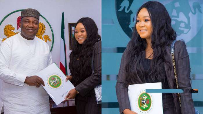 Actress Rachael Okonkwo has been appointed the Enugu State Ambassador on Youth Development
